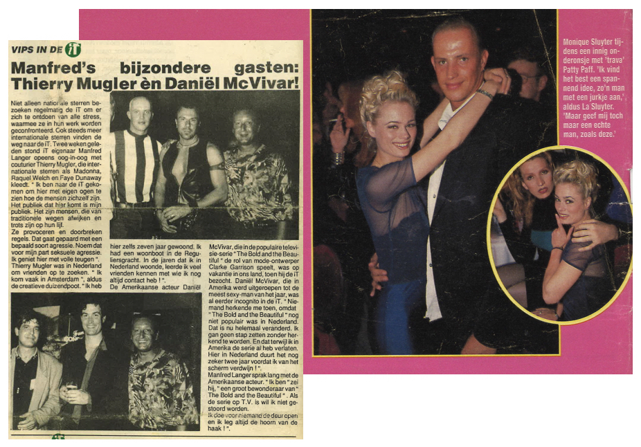 Ries was often spotted in the tabloids accompanied by national and international celebrities.